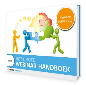 Het Grote Webinar Handboek cover