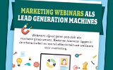 Infographic marketing webinars